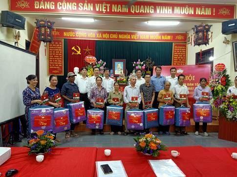 Tưng bừng Ngày hội Đại đoàn kết toàn dân tộc tại thôn 3, xã Bát Tràng, huyện Gia Lâm