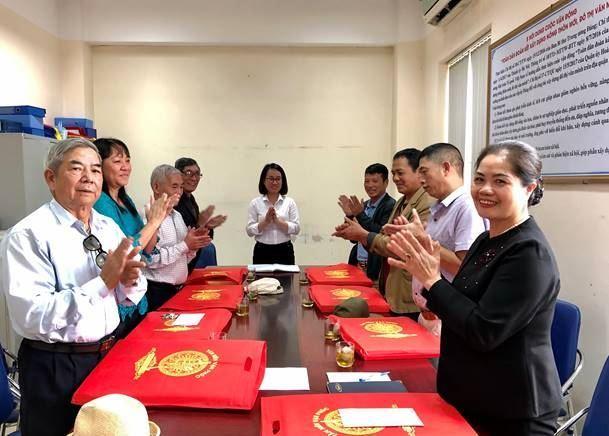 Quận Hoàng Mai gặp mặt, chúc mừng Ban đoàn kết Công giáo quận nhân dịp lễ Giáng sinh năm 2019