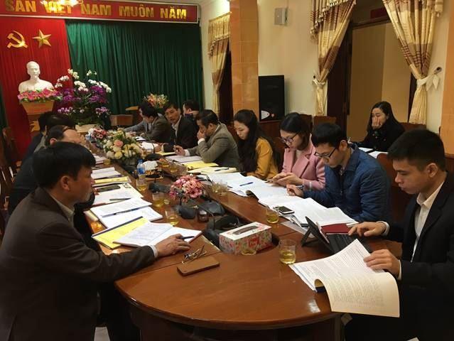 Huyện Thường Tín xây dựng, triển khai thực hiện tốt chương trình công tác năm 2020