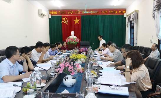 Ủy ban MTTQ TP kiểm tra về việc giám sát thực hiện chính sách hỗ trợ người dân gặp khó khăn do đại dịch Covid-19 tại huyện Quốc Oai