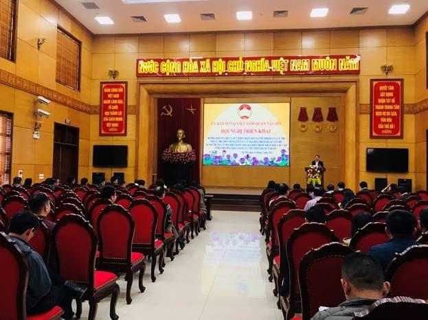 Ủy ban MTTQ Việt Nam quận Tây Hồ triển khai Hướng dẫn thực hiện bước 4 của Quy trình hiệp thương