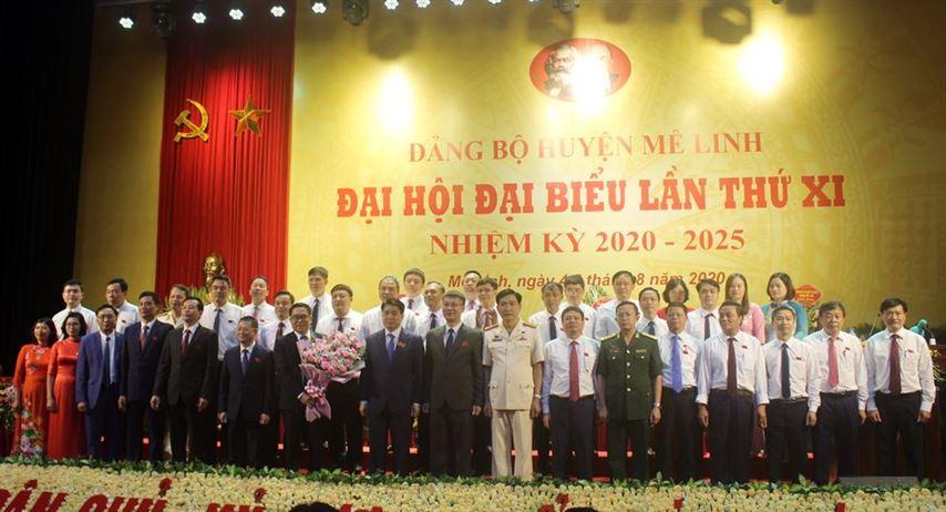 Đại hội đại biểu Đảng bộ huyện Mê Linh lần thứ XI, nhiệm kỳ 2020 – 2025 thành công tốt đẹp