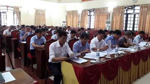 Uỷ ban MTTQ Việt Nam huyện Ứng Hòa đã tổ chức kỳ họp thứ 10, khoá XXII, nhiệm kỳ 2014 -2019