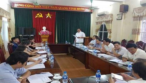 """Huyện Ba Vì tổ chức sơ kết 6 tháng cuộc vận động """"Người Việt Nam ưu tiên dùng hàng Việt Nam"""" năm 2018"""