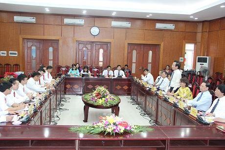 Hội nghị hợp tác giữa Ủy ban Mặt trận Tổ quốc Việt Nam TP Hà Nội và Ủy ban Mặt trận Tổ quốc tỉnh Lào Cai