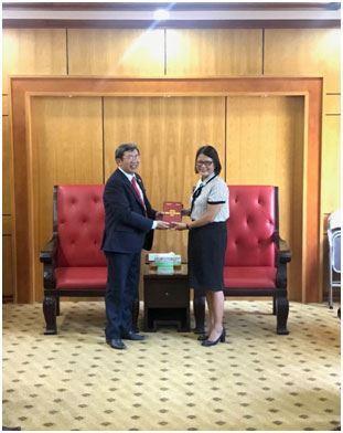 Đoàn Giáo hội Báp Tít Việt Nam đến chào xã giao Ủy ban MTTQ Việt Nam  thành phố Hà Nội