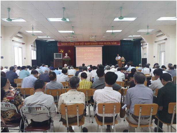 Quận Nam Từ Liêm tổ chức hội nghịhướng dẫn công táctổ chức Đại hội MTTQ Việt Nam các cấp nhiệm kỳ 2019-2024