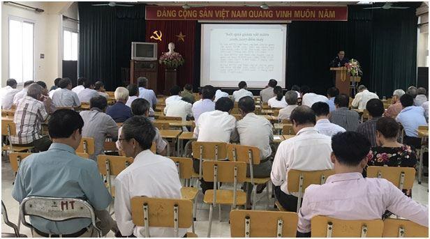 Quận Nam Từ Liêm tổ chức hội nghị tập huấn kỹ năng giám sát của cán bộ Mặt trận trong việc bảo vệ môi trường khi thực hiện dự án tại địa phương