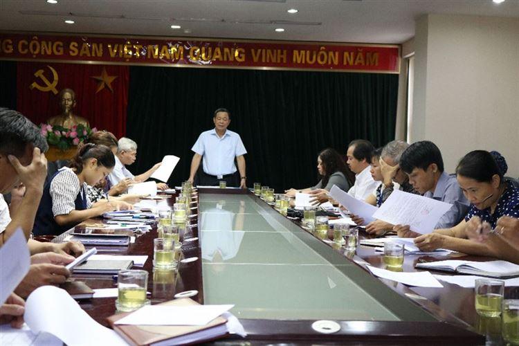 Ủy ban MTTQ Việt Nam quận Hoàng Mai  tổ chức hội nghị triển khai  một số nhiệm vụ trọng tâm tháng 9 năm 2018