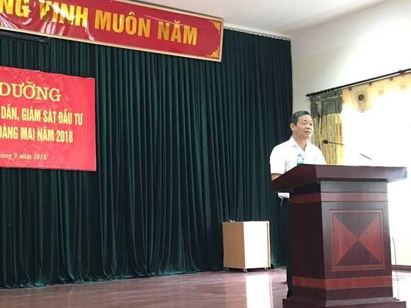 Quận Hoàng Mai tổ chức lớp bồi dưỡng công tác  Thanh tra nhân dân, Giám sát đầu tư của cộng đồng