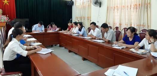 Ủy ban MTTQ Việt Nam thị xã Sơn Tây giao ban tiến độ chuẩn bị Đại hội MTTQ Việt Nam các cấp