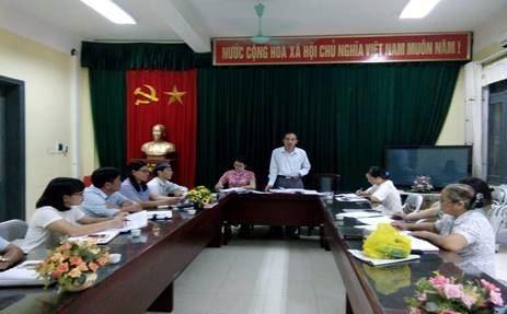 Ủy ban MTTQ Việt Nam huyện Thanh Trì duyệt nội dung Chương trình Đại hội điểm MTTQ Việt Nam xã Thanh Liệt (nhiệm kỳ 2019-2024)