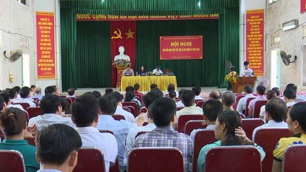 Huyện Đông Anh tổ chức Hội nghị tiếp xúc cử tri đại biểu Quốc hội trước kỳ họp thứ 6 Quốc hội khóa 14.