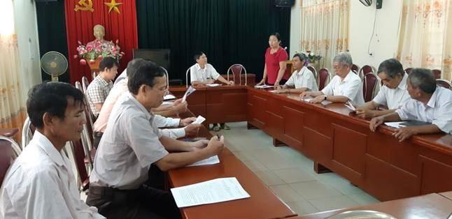 Ban đoàn kết Công giáo thị xã Sơn Tây sơ kết hoạt động 9 tháng đầu năm, triển khai phương hướng, nhiệm vụ 3 tháng cuối năm 2018