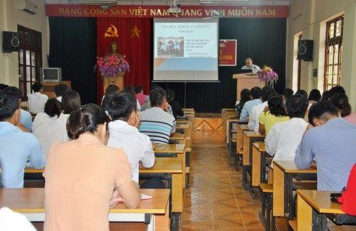 Sơn Tây bồi dưỡng cán bộ quy hoạch chức danh lãnh đạo Ủy ban MTTQ Việt Nam xã, phường