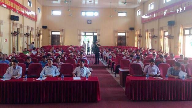 Đoàn đại biểu Quốc hội TP Hà Nội tiếp xúc với cử tri huyện Sóc Sơn trước kỳ họp thứ 6, Quốc hội khóa XIV