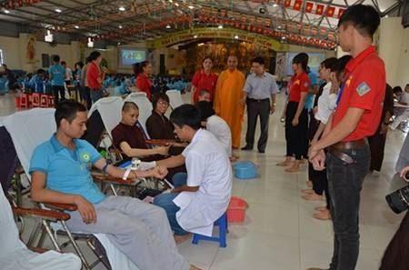 Thị xã Sơn Tây tổ chức chương trình hiến máu tình nguyện