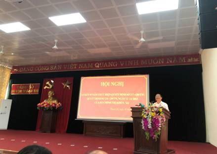 Huyện Thanh Trì sơ kết 5 năm thực hiện Quyết định 217 và 218 - QĐ/TW ngày 12/12/2013 của Bộ Chính trị (khóa XI)