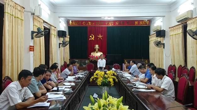 Ủy ban MTTQ Việt Nam huyện Đan Phượng tổ chức giao ban công tác Mặt trận quý III năm 2018