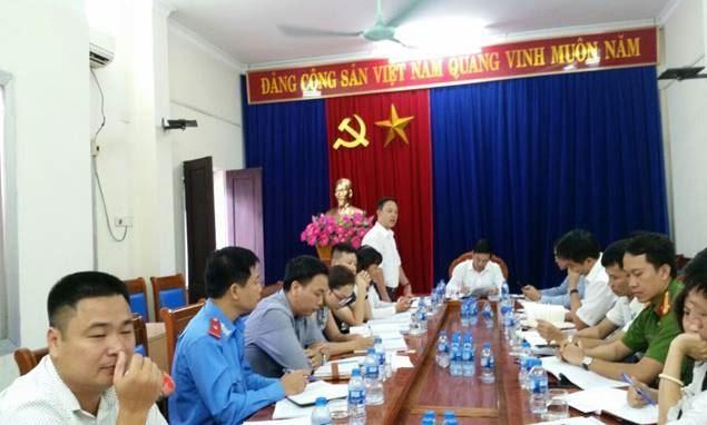 Quận Hoàng Mai giám sát công tác quản lý trật tự đô thị
