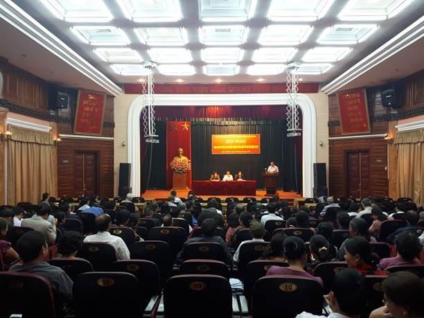 Quận Nam Từ Liêm tổ chức hội nghị tọa đàm nâng cao chất lượng hòa giải ở cơ sở năm 2018