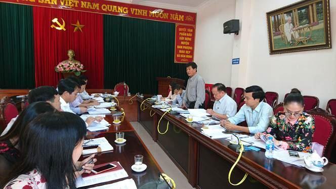 Ban Thường trực Ủy ban MTTQ Việt Nam Thành phố kiểm tra công tác chuẩn bị Đại hội MTTQ Việt Nam huyện Đan Phượng