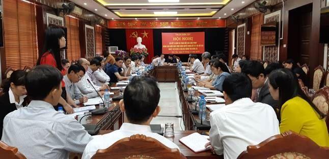 Sơn Tây sơ kết 5 năm Quyết định 217, 218 của Bộ Chính trị khóa XI