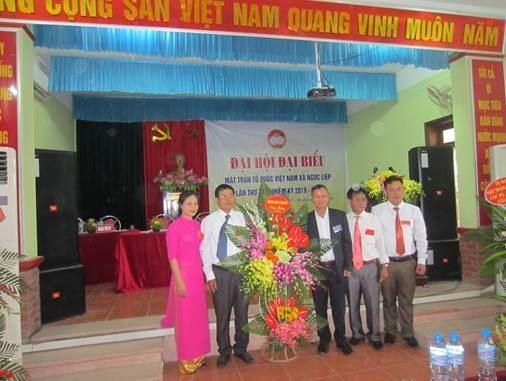 Đại hội đại biểu MTTQ Việt Nam xã Ngọc Liệp, huyện Quốc Oai khóa XXI nhiệm kỳ 2019 -2024