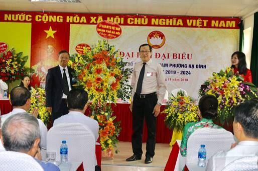 Ủy ban MTTQ Việt Nam phường Hạ Đình tổ chức thành công Đại hội điểm Lần thứ V, nhiệm kỳ 2019-2024