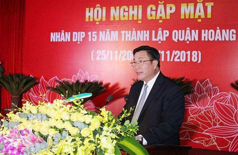 Quận Hoàng Mai tổ chức hội nghị gặp mặt  nhân kỷ niệm 15 năm thành lập quận (25/11/2003 - 25/11/2018)