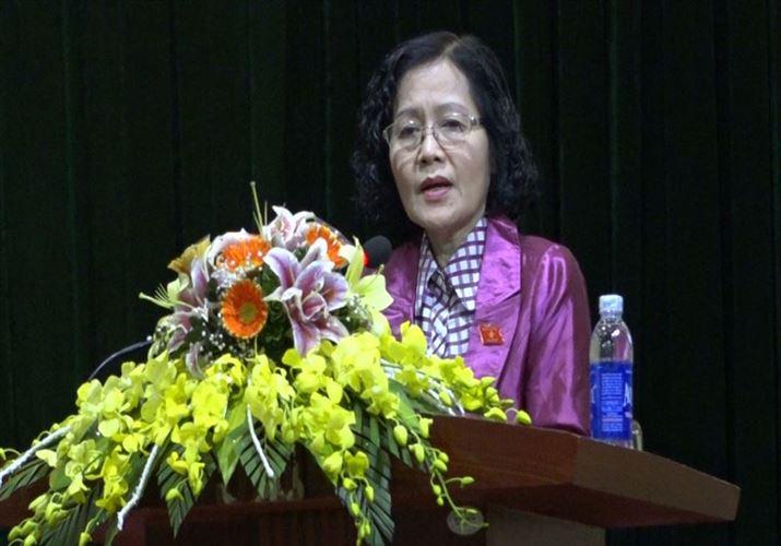 Đoàn đại biểu Quốc hội thành phố Hà Nội tiếp xúc cử tri sau kỳ họp thứ 6 Quốc hội khóa XIV, nhiệm kỳ 2016-2021 tại huyện Mỹ Đức