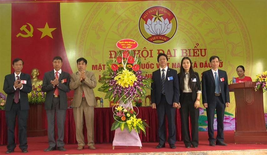 Đại hội đại biểu MTTQ Việt Nam xã Đắc Sở lần thứ XXII nhiệm kỳ 2019-2024