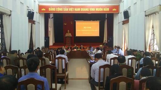 Cử tri huyện Thanh Trì tiếp xúc với Đoàn đại biểu Quốc hội thành phố Hà Nội sau kỳ họp thứ 6 Quốc hội khoá XIV