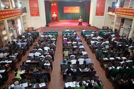 Sơn Tây: Học tập, quán triệt, triển khai Nghị quyết Trung ương 8 khoá XII