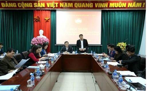 Hội nghị phản biện Dự thảo kế hoạch phát triển kinh tế - xã hội quận Bắc Từ Liêm năm 2019.