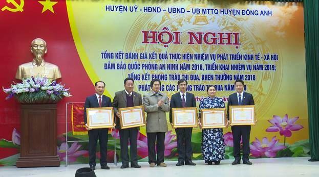 Đông Anh tổ chức Lễ truy tặng danh hiệu vinh dự Nhà nước Mẹ Việt Nam Anh hùng và tổng kết công tác thi đua khen thưởng năm 2018, phát động phong trào thi đua năm 2019