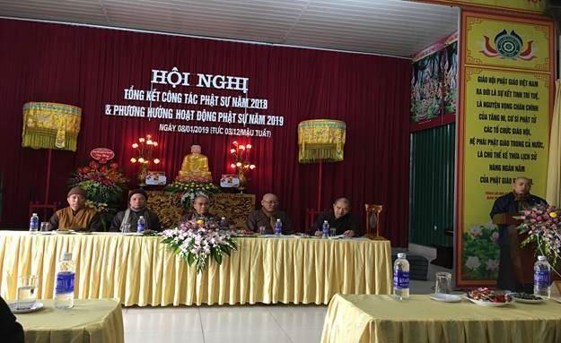 Huyện Đông Anh tổng kết công tác Phật sự năm 2018