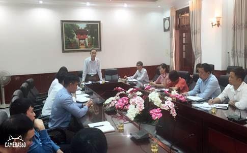 Thanh Trì giao ban công tác Mặt trận và nắm bắt dư luận xã hội dịp tết nguyên đán Kỷ Hợi 2019