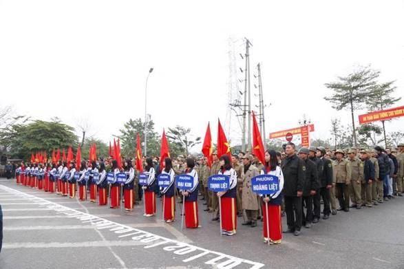 Quận Hoàng Mai tổ chức Lễ phát động ra quân Năm an toàn giao thông năm 2019