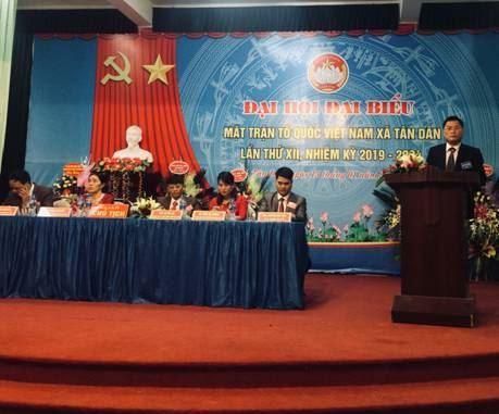 15/28 xã, thị trấn của huyện Phú Xuyên tổ chức thành công Đại hội đại biểu MTTQ Việt Nam cấp xã, thị trấn nhiệm kỳ 2019-2024