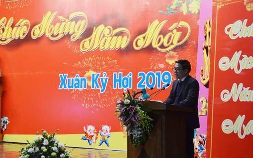 Huyện Mê Linh tổ chức hội nghị gặp mặt các đồng chí cán bộ hưu trí, toàn thể cán bộ, công chức, viên chức, người lao động trong các cơ quan, đơn vị thuộc huyện.