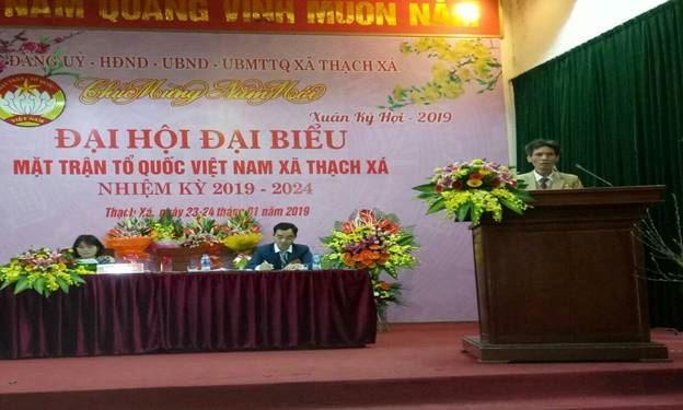 Huyện Thạch Thất hoàn thành sớm Đại hội MTTQ Việt Nam cấp cơ sở
