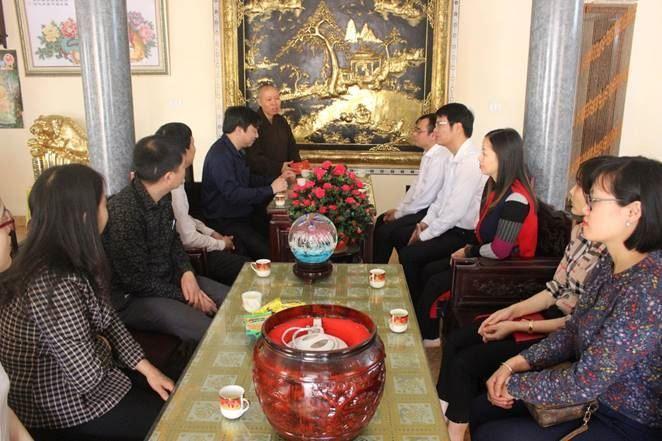 Thăm, tặng quà một số chùa trên địa bàn quận Nam Từ Liêm  nhân dịp Xuân Kỷ Hợi 2019