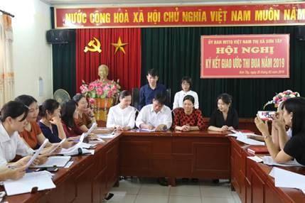 Sơn Tây tổ chức hội nghị phát động thi đua năm 2019