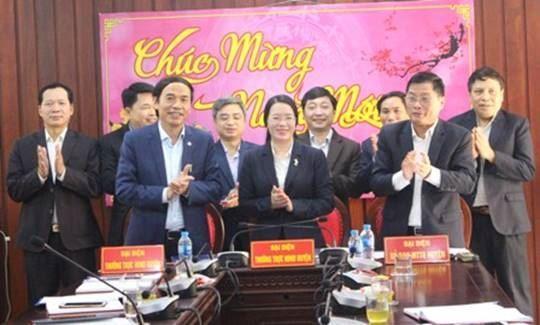 Hội nghị ký kết chương trình phối hợp công tác giữa Thường trực HĐND - UBND – Ủy ban MTTQ Việt Nam huyện Phú Xuyên năm 2019