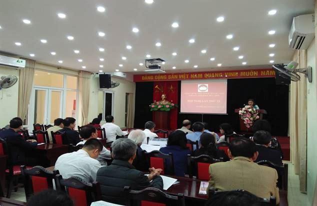 Hội nghị Ủy ban MTTQ Việt Nam quận Cầu Giấy lần thứ 15, nhiệm kỳ 2014-2019.