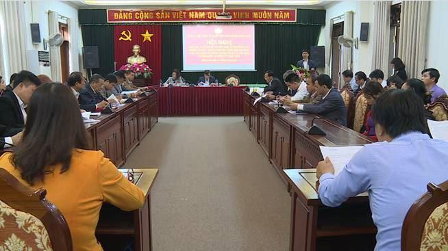 Hội nghị lấy ý kiến đóng góp vào dự thảo Báo cáo chính trị trình tại Đại hội đại biểu MTTQ Việt Nam Đông Anh huyện khóa 19, nhiệm kỳ 2019 - 2024