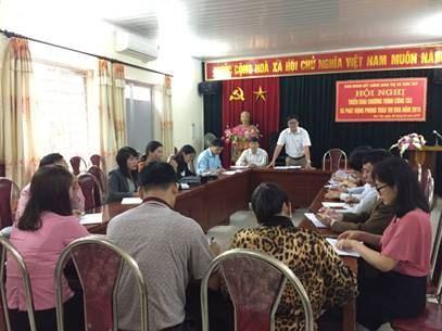 Sơn Tây tổ chức giao ban công tác chuẩn bị Đại hội MTTQ Việt Nam thị xã