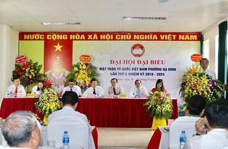 Quận Thanh Xuân chỉ đạo thành công Đại hội MTTQ cơ sở, khẩn trương tiến tới Đại hội MTTQ Việt Nam quận lần thứ V, nhiệm kỳ 2019 - 2024