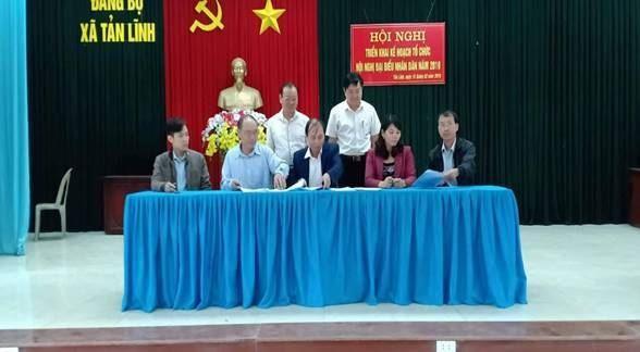 Huyện Ba Vì hoàn thành kế hoạch tổ chức nghị đại biểu nhân dân năm 2019
